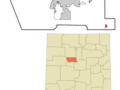 Location Of Chilili New Mexico