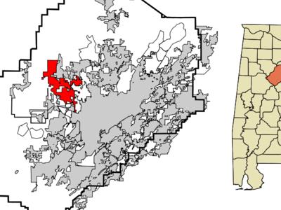 Location Of Adamsville In Alabama