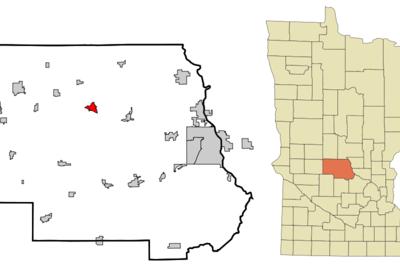 Location Of Albany Minnesota