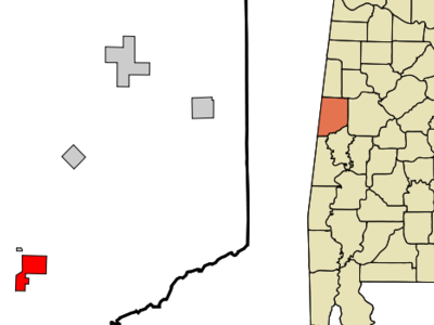 Location In Pickens County And The State Of Alabama
