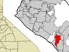 Location Of Aliso Viejo Within Orange County California.