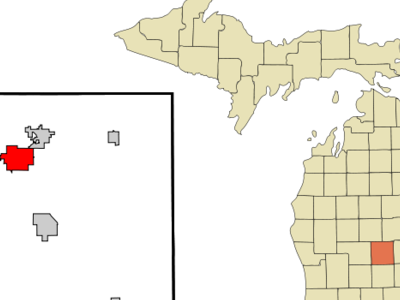 Location Of Alma Michigan