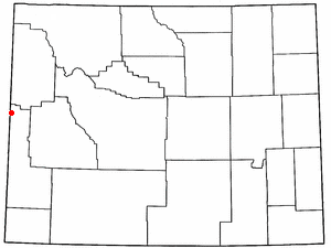 Location Of Alpine Wyoming