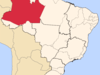 Location Of State Of Amazonas In Brazil