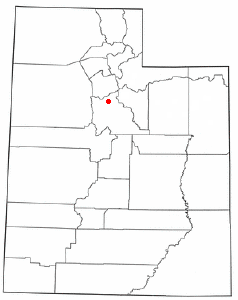 Location Of American Fork Utah