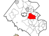 Location Of Annandale In Fairfax County Virginia