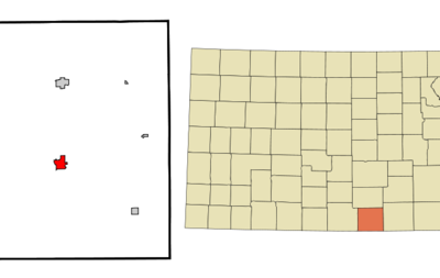Location Of Anthony Kansas
