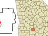 Location In Turner County And The State Of Georgia