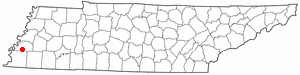 Location Of Atoka Tennessee