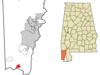 Location In Mobile County In The State Of Alabama