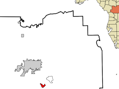 Location In Marion County And The State Of Florida