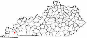 Location Of Benton Kentucky