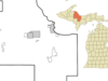Location Of Big Bay Michigan
