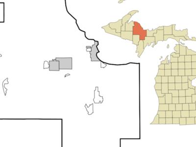 Location Of Big Bay Michigan