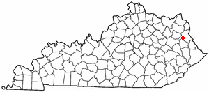 Location Of Blaine Kentucky