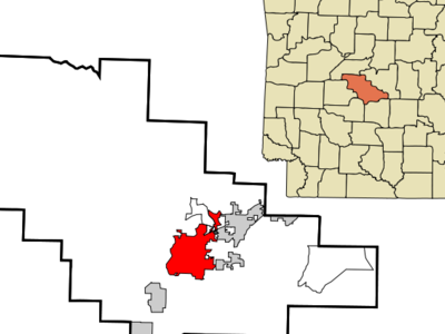 Location In Saline County And The State Of Arkansas