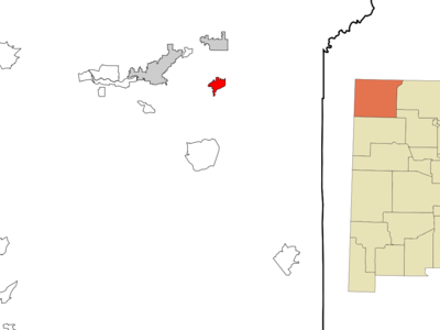 Location Of Bloomfield New Mexico