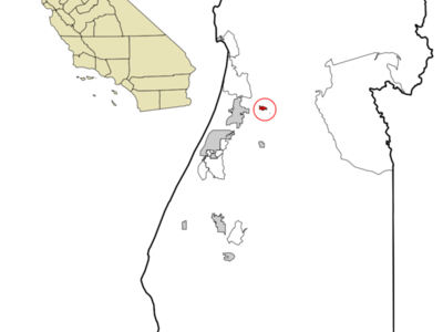 Location In Humboldt County And The State Of California