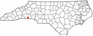 Location Of Boiling Springs North Carolina