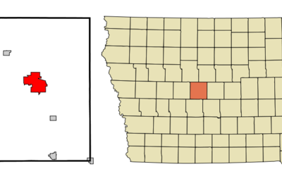 Location Of Boone Iowa