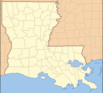Location Of Boothville Venice In Louisiana