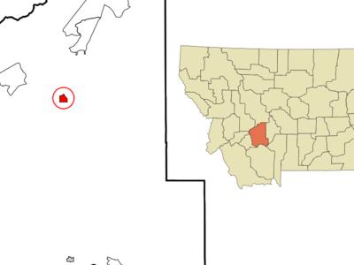 Location Of Boulder Montana