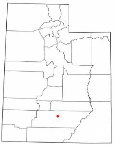 Location Of Boulder Utah