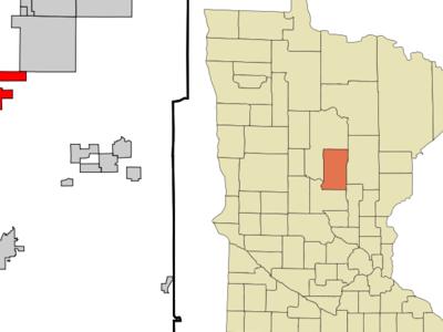 Location Of Breezy Point Minnesota