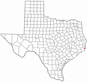 Location Of Bridge City Texas