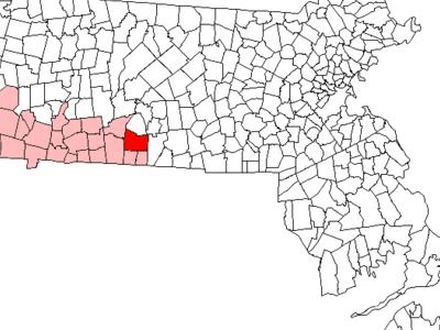 Location In Hampden County In Massachusetts