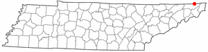 Location Of Bristol Tennessee