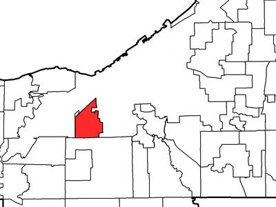 Location Of Brooklyn In Cuyahoga County