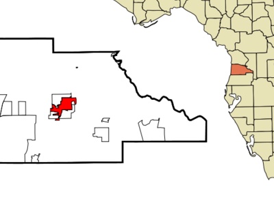 Location In Hernando County And The State Of Florida