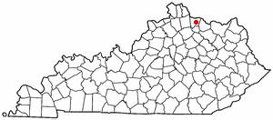 Location Of Brooksville Kentucky