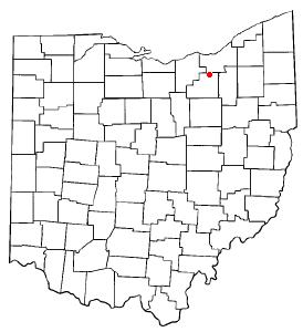 Location Of Brunswick Ohio