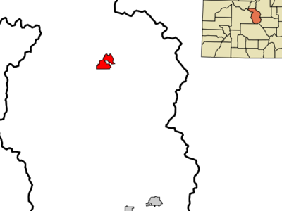 Location In Chaffee County And The State Of Colorado