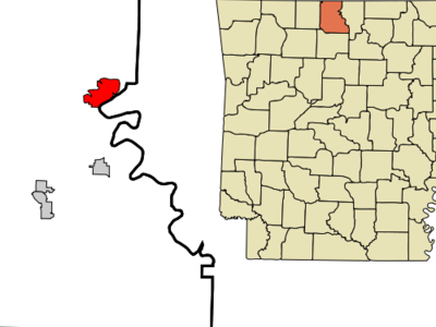 Location In Marion County And The State Of Arkansas