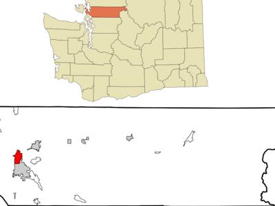 Location Of Burlington In Washington