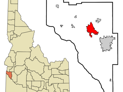 Location In Canyon County And The State Of Idaho
