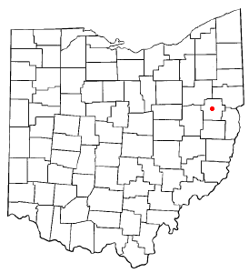 Location Of Carrollton Ohio