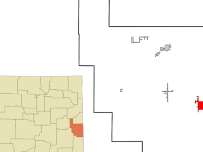 Location Of Causey New Mexico
