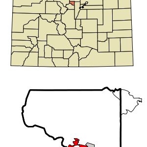 Location In Gilpin County And The State Of Colorado