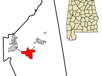 Location In Cherokee County And The State Of Alabama