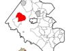 Location Of Chantilly In Fairfax County Virginia