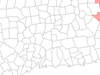 Location Within Windham County Connecticut
