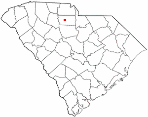 Location Of Chester South Carolina