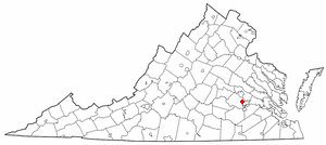 Location Of Chester Virginia