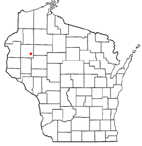 Location Of Chetek Within Wisconsin