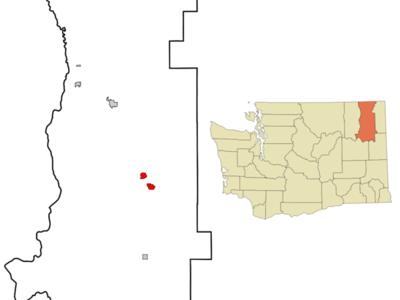 Location Of Chewelah Washington