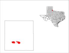 Location Of Childress Texas